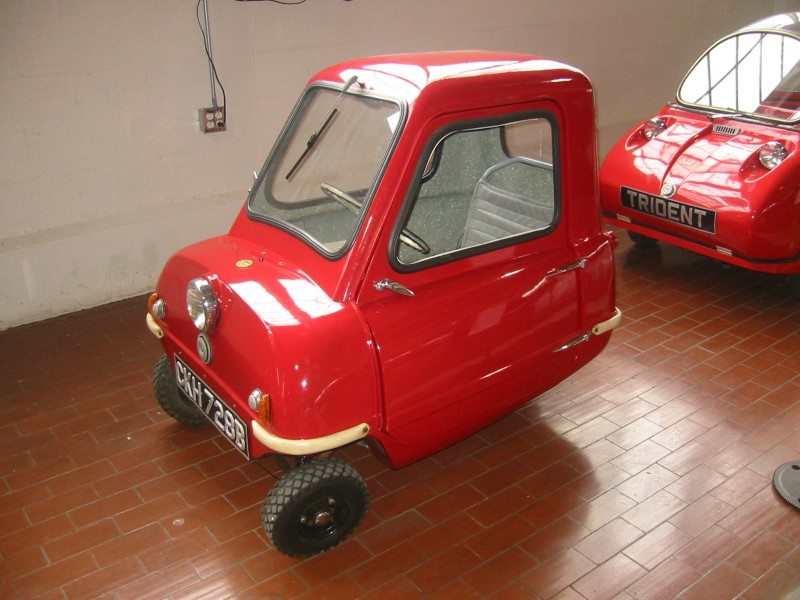 World's smallest car, Peel P50, hits the road again