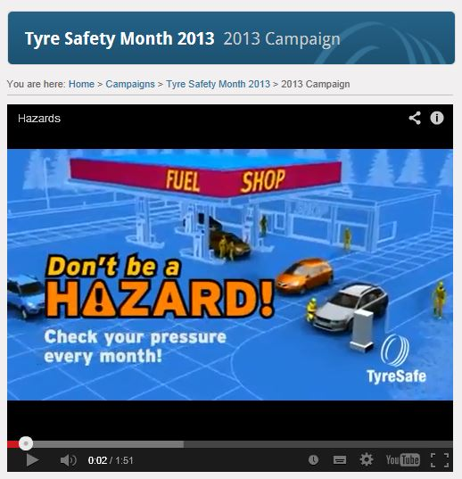 New TyreSafe animation released