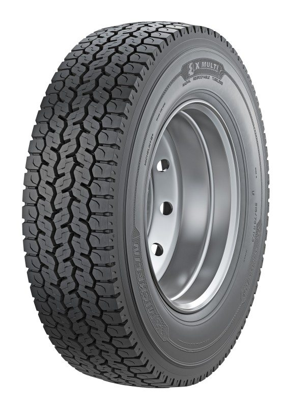 Michelin launches X Multi D coach, medium truck tyre