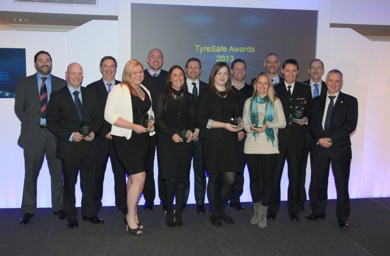 TyreSafe's 'Outstanding Contribution' award goes to Highways Agency