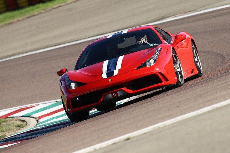 A close technical collaboration - Michelin and the Ferrari 458 Speciale