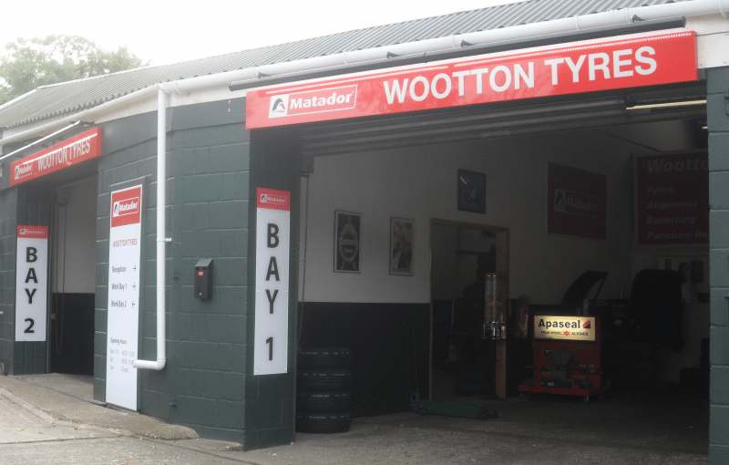 Wootton Tyres first in Stapleton's Matador re-fit Programme