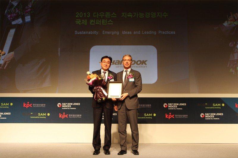 Hankook joins Dow Jones Sustainability Index