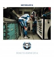 2014 Metzeler Calendar celebrates road racing competition
