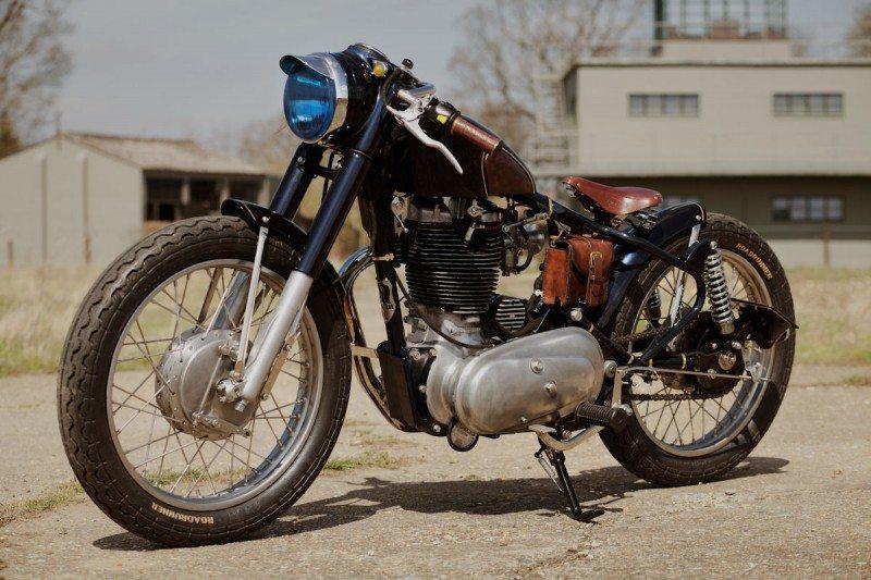 Custom Fox motorcycle rides on Avon