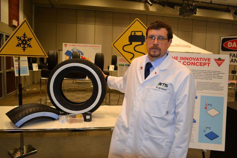 UK firm develops temperature-sensitive tyre that changes colour