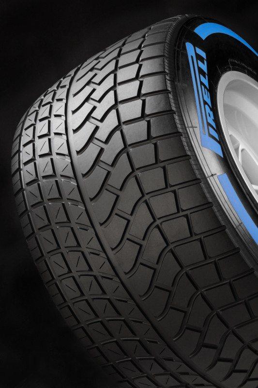 Pirelli Cinturato Blue F1 wet tyre