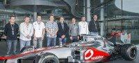Top Pirelli Performance centres get a tour of McLaren