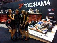 WTCC Yokohama Trophy winner visits supplier at Autosport