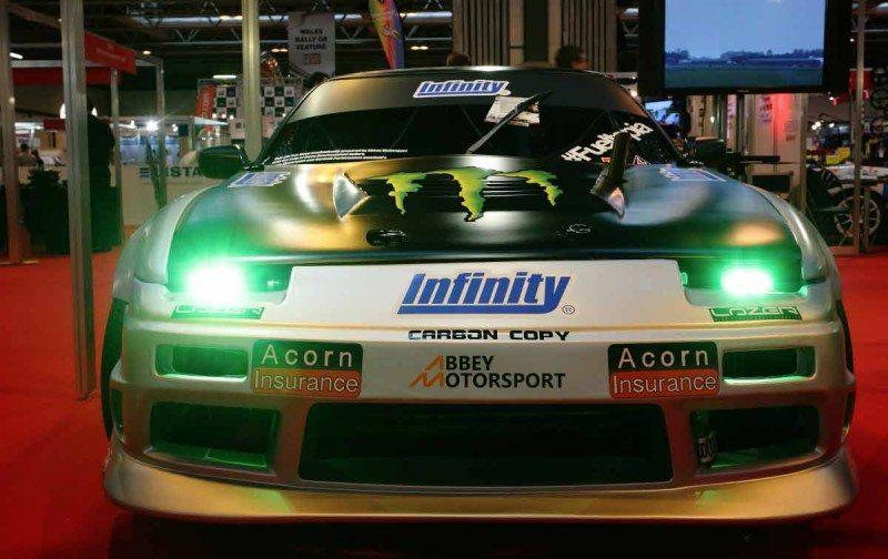 Acorn Infinity Motorsport drifting Nissan S13