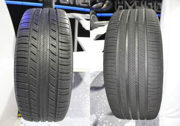 Our worn tyre is better than the rivals' new products, says Michelin