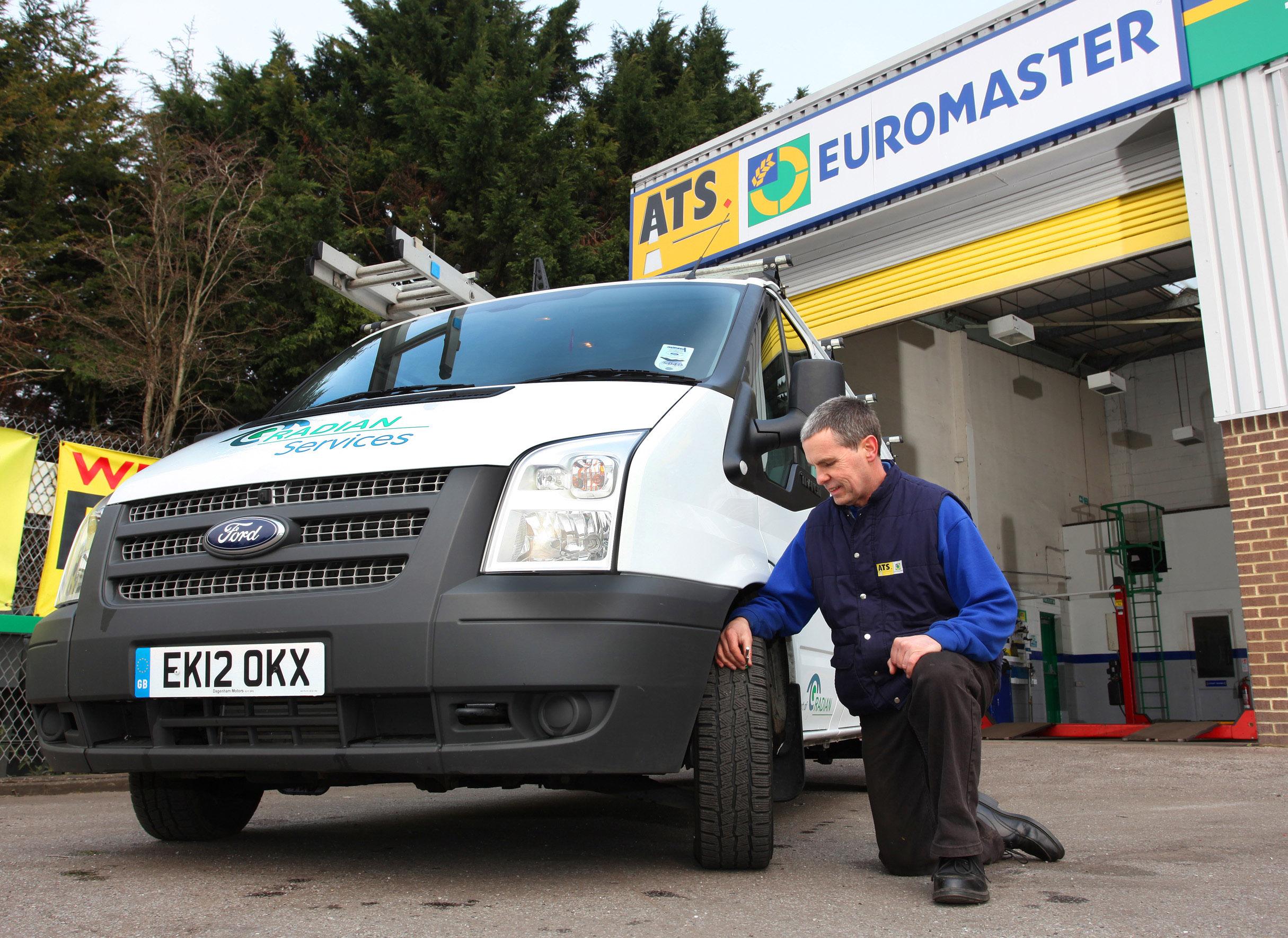 ATS Euromaster van expertise CV Show