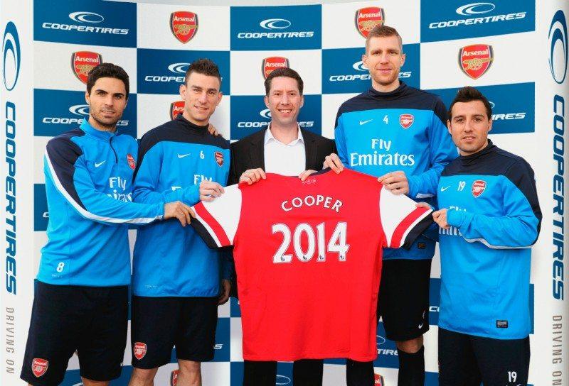 Arsenal Cooper Sponsonsorship
