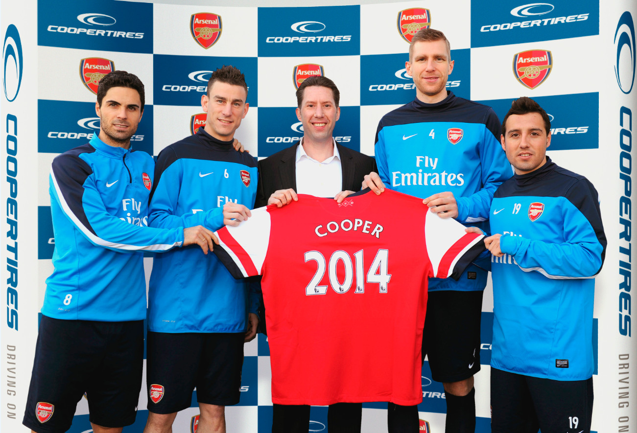 Arsenal Cooper Sponsonsorship