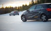 Conti launched the new winter tyres from its Arvidsjaur, Sweden facility