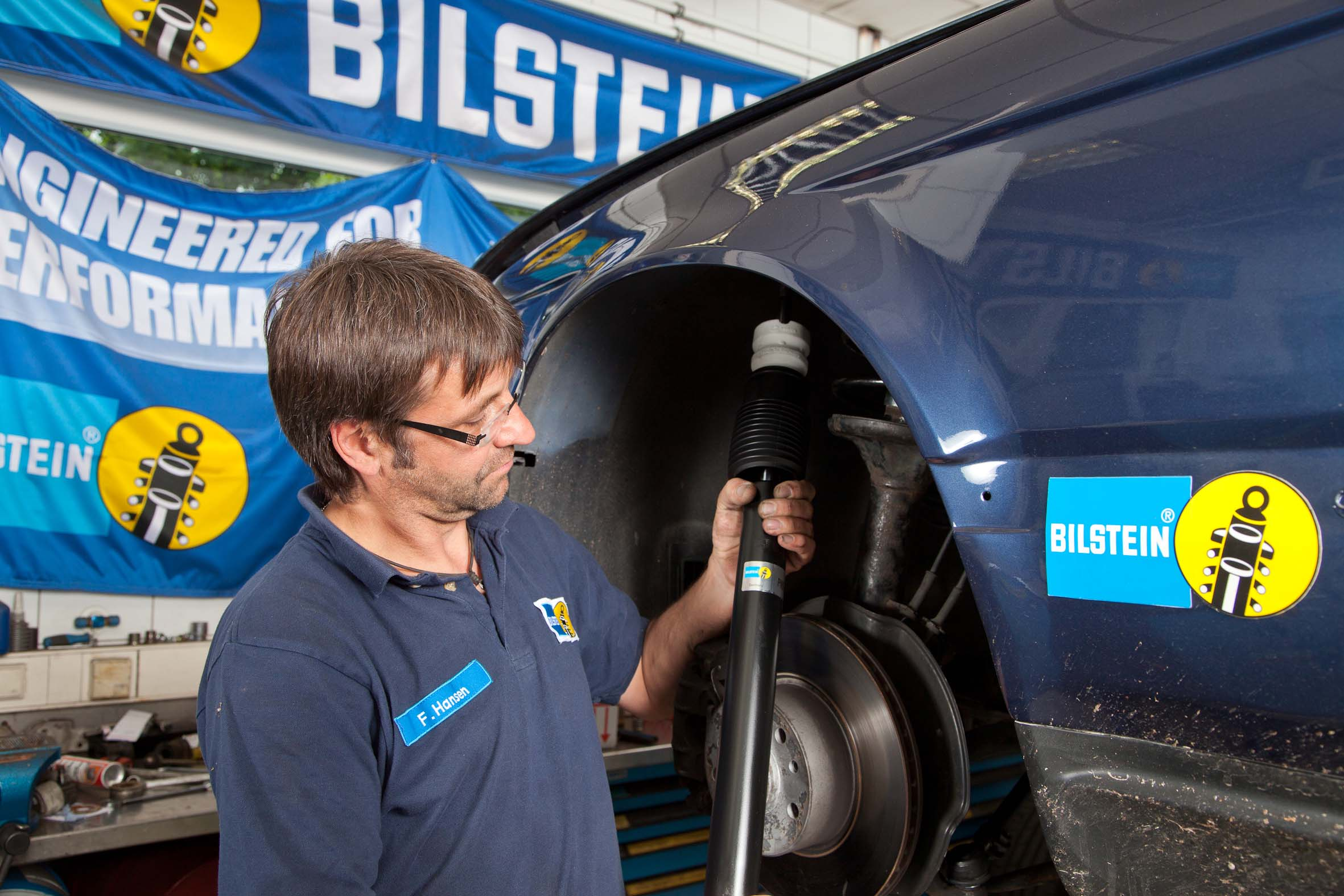 Bilstein recommends shock absorber inspection