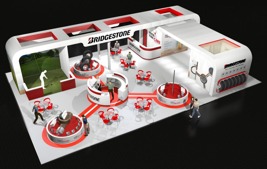 Bridgestone CV Show stand 2014