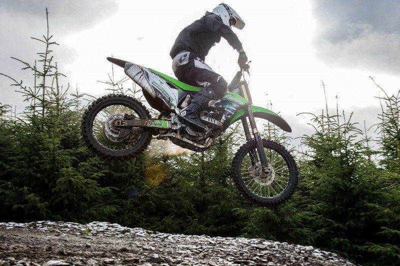 Adam Extance rides on Battlecross X30