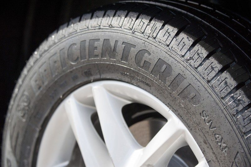 The new Goodyear EfficientGrip SUV tyre