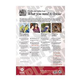 2009 Health & Safety Law poster