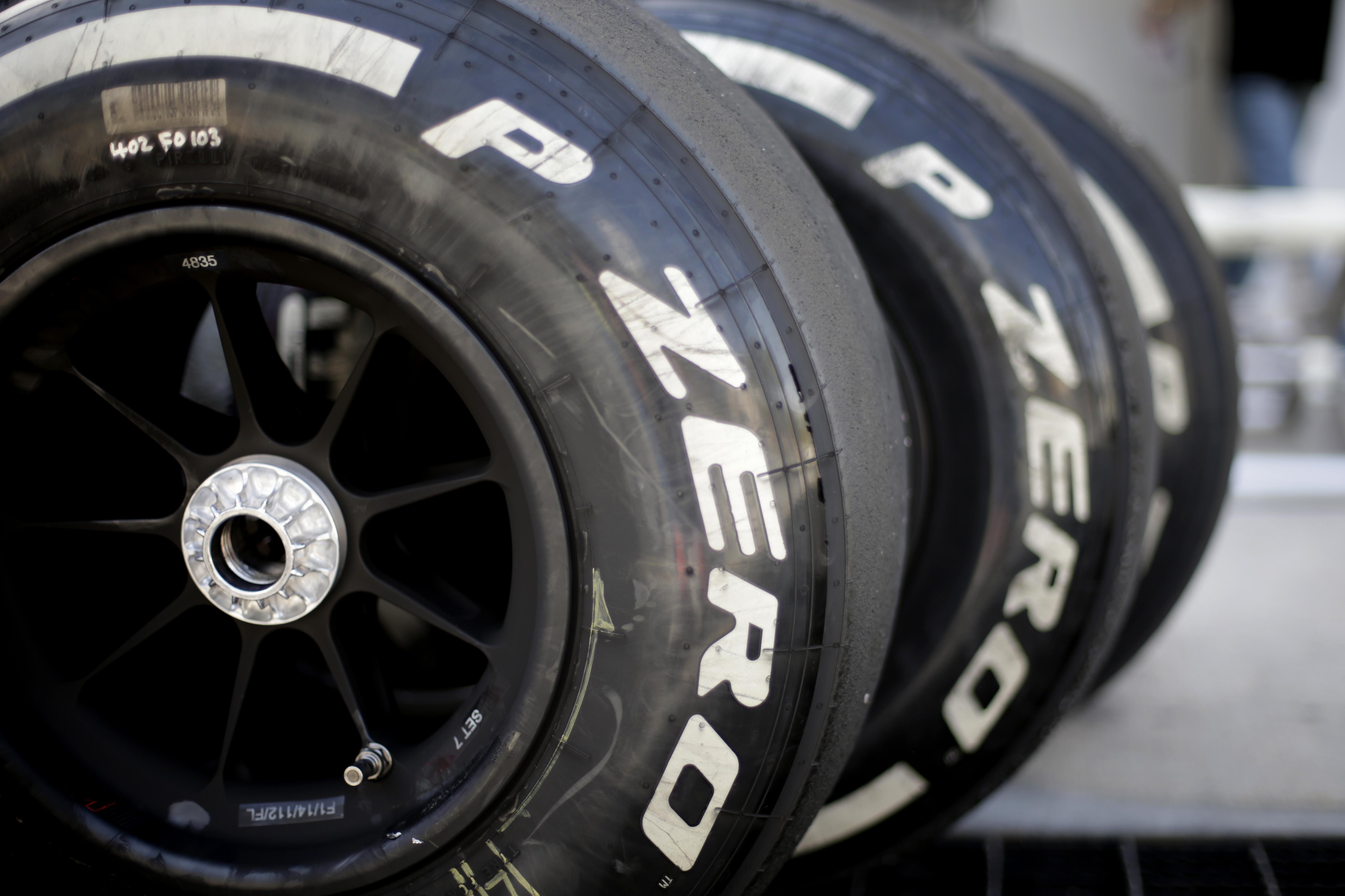 P Zero White medium tyres
