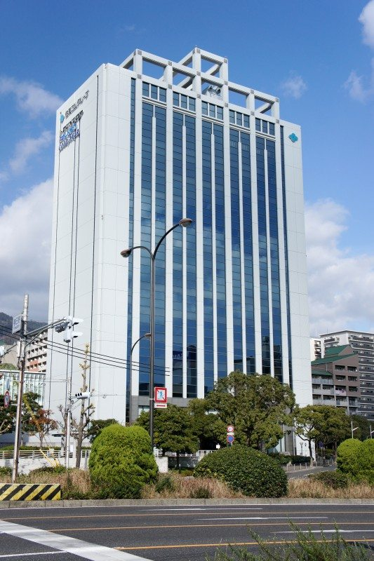 Sumitomo Rubber's Kobe headquarter building