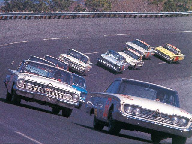 Goodyear racks up 60 years of NASCAR tyre supply