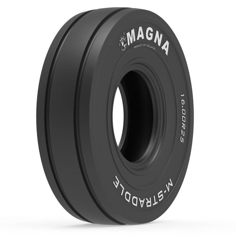 US debut for Magna M-Straddle port tyre at ConExpo