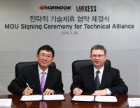 Hankook, Lanxess join forces for synthetic rubber development