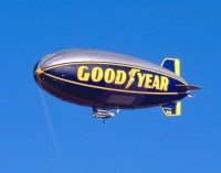 Out of service and into the record books for Goodyear blimp