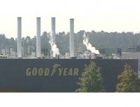 Goodyear plant evacuated following threat