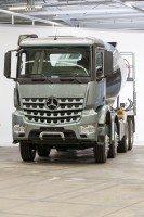 Speedline Truck supplying Mercedes-Benz Arocs truck