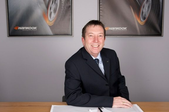 Barrie Horrocks, Hankook Tyre UK sales director