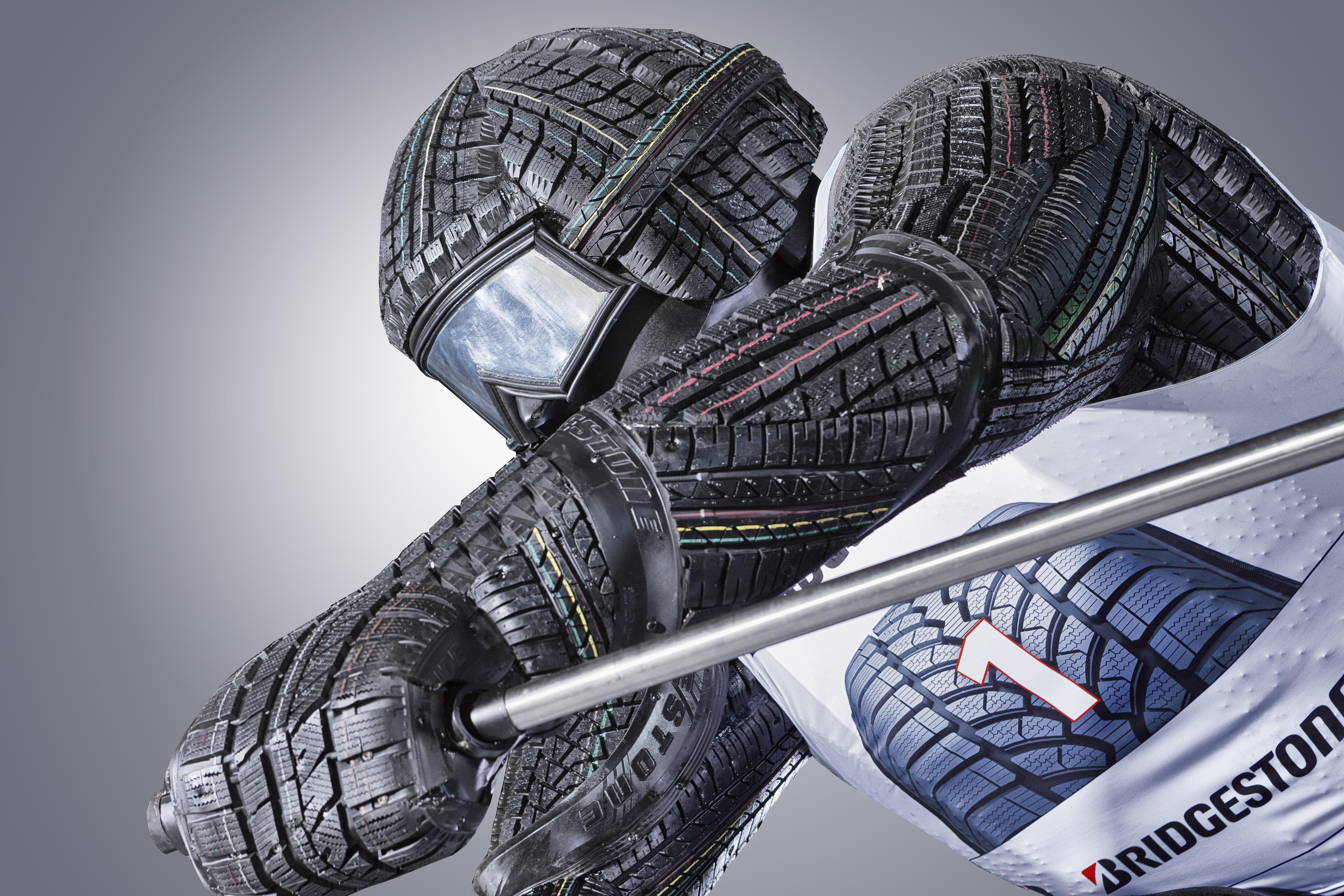 Bridgestone Tyre Racer