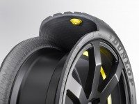 Goodyear Dunlop's chip-in-tyre shows latest in intelligent tyre technology