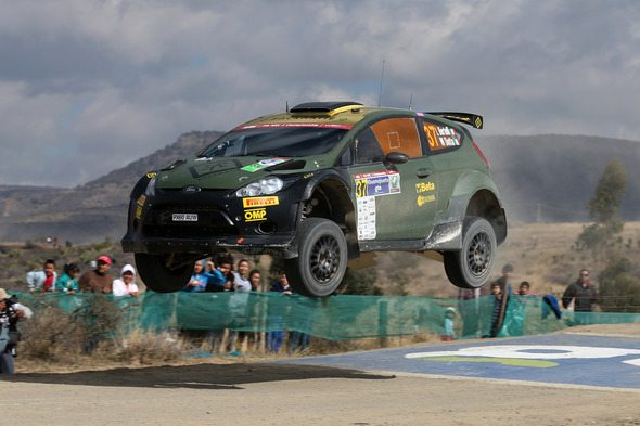 Lorenzo Bertelli finished in WRC2 second place at World Rally Championship's Rally Guanajuato Mexico