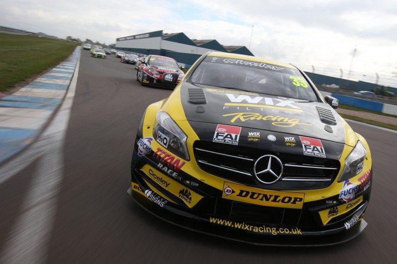 Adam Morgan's WIX Racing Mercedes