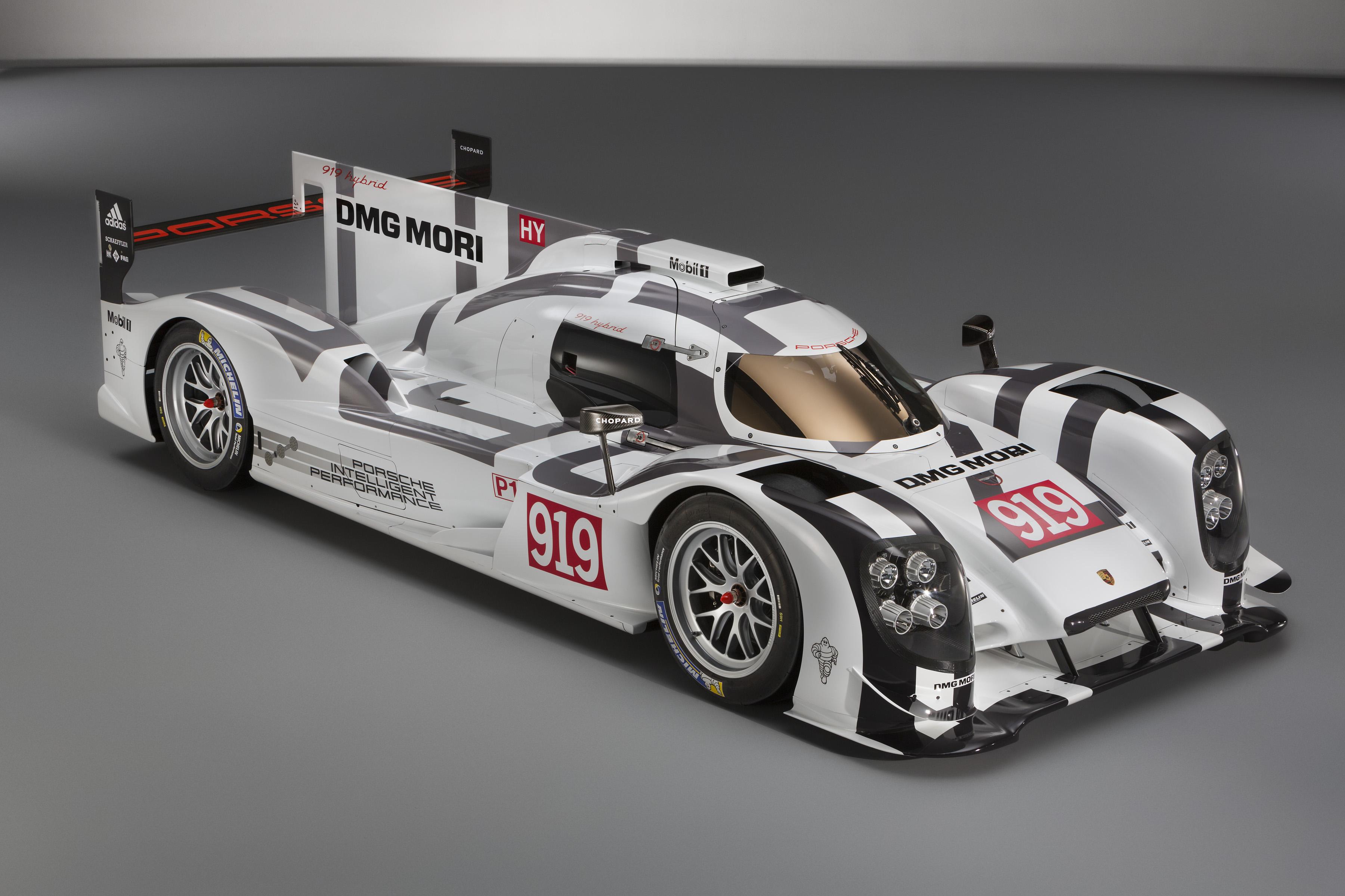 Porsche 919 Hybrid with Michelin tyres