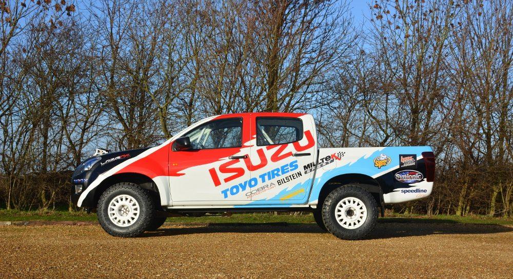 Toyo on Isuzu D-Max Britpart MSA BCCC