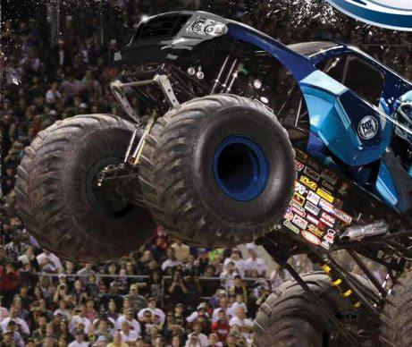BKT the official tyre of Monster Jam