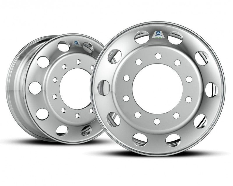 Lose weight with Alcoa - world's lightest heavy-duty truck wheel unveiled