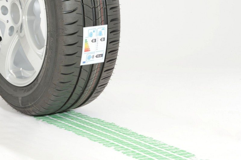 EU model used for Chinese green tyre specification