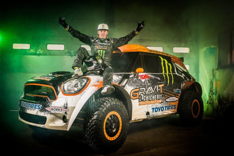 Team Toyo driver to attempt new 'car ramp jump' record