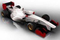 Japanese Super Formula racecar