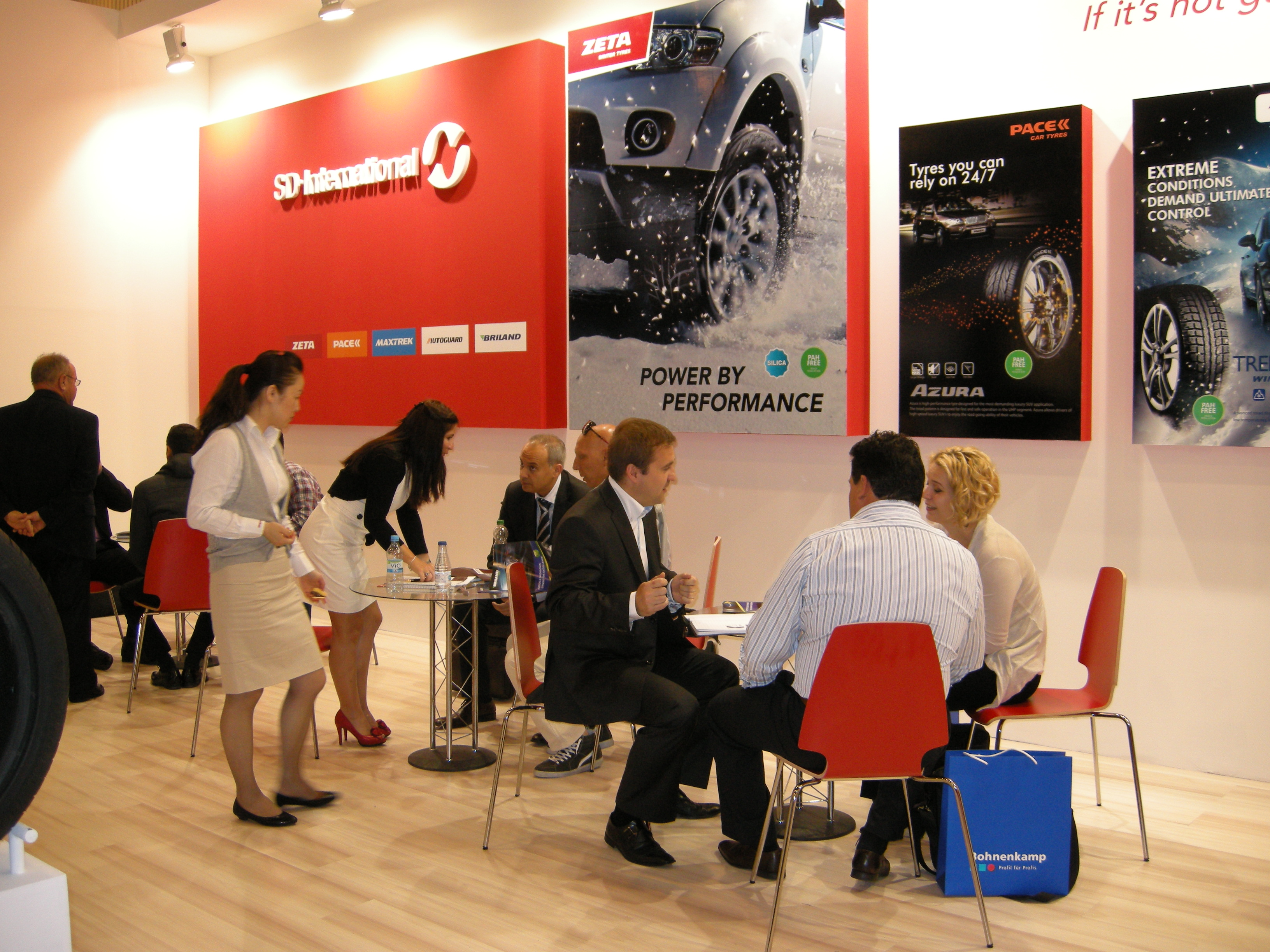 SD International expo stand