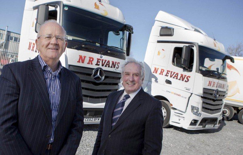 NR Evans MD Neil Evans Gareth Edwards