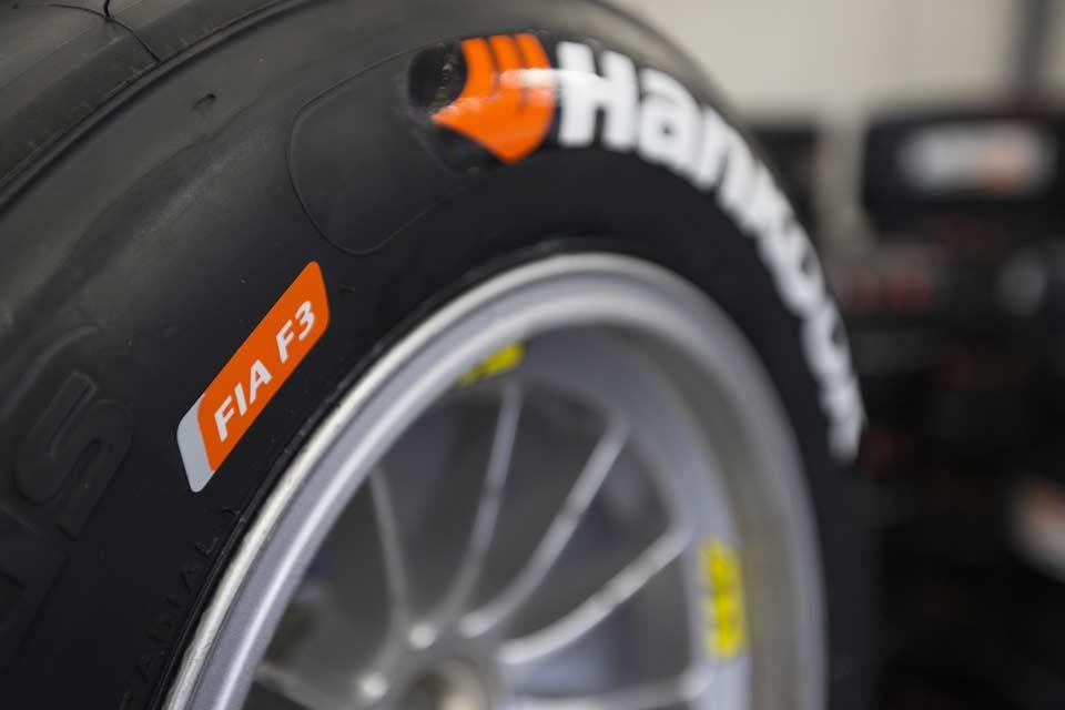 2014 F3 Hankook Ventus slick tyres