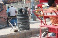 Tyres, Delhi style