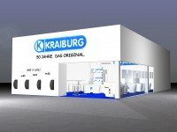 Kraiburg showing 50 years of history plus new designs in Essen