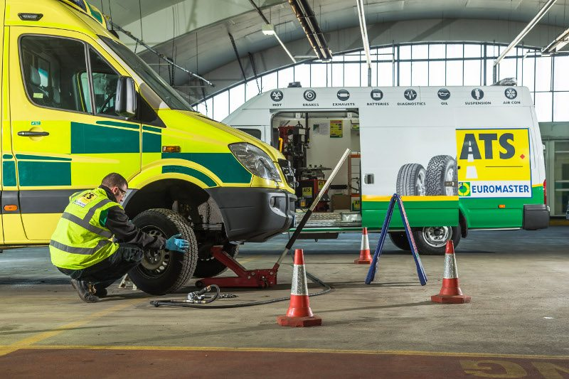 ATS Euromaster Yorkshire Ambulance Service NHS Trust